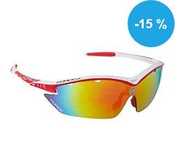 Prohlédnout Brýle FORCE RON bílé, červená laser skla - 91011 na Kupkolo.cz