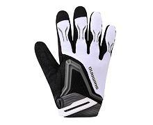 Shimano rukavice Free Ride - bílé