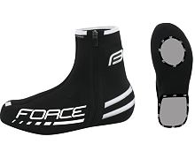 Návleky na tretry Force neoprén 2mm černé - 90595