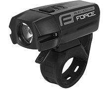 Přední svítilna Force BUG-400 USB - černé