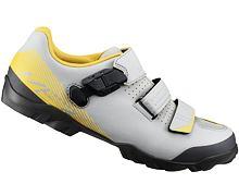 Tretry Shimano SH-ME3, šedá/žlutá
