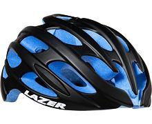 Helma silniční LAZER BLADE matná černá, modré EPS