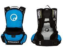 Batoh Ergon BE1 Enduro Protect černá/modrá