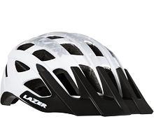 Helma MTB LAZER ROLLER, matná bílá/stříbrná