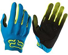 Rukavice Fox Attack Glove modrá fluo