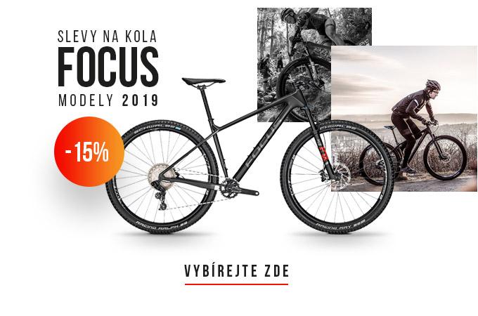 Slevy na kola FOCUS až 15%