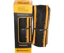 Continental Ultra Sport 2 Kevlar černá/oranžová