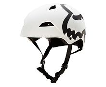 Helma Fox Flight Eyecon Hardshell Helmet white