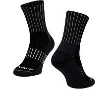 Ponožky Force Arctic, černo bílé - merino