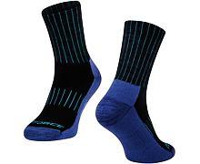 Ponožky Force Arctic, modrá - merino